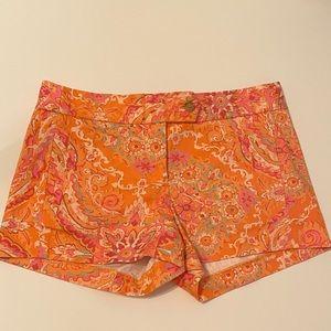 J Crew shorts paisley print